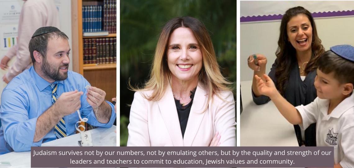 Rabbi Zwigard, Tracey Scheier and Yirat Horwatt
