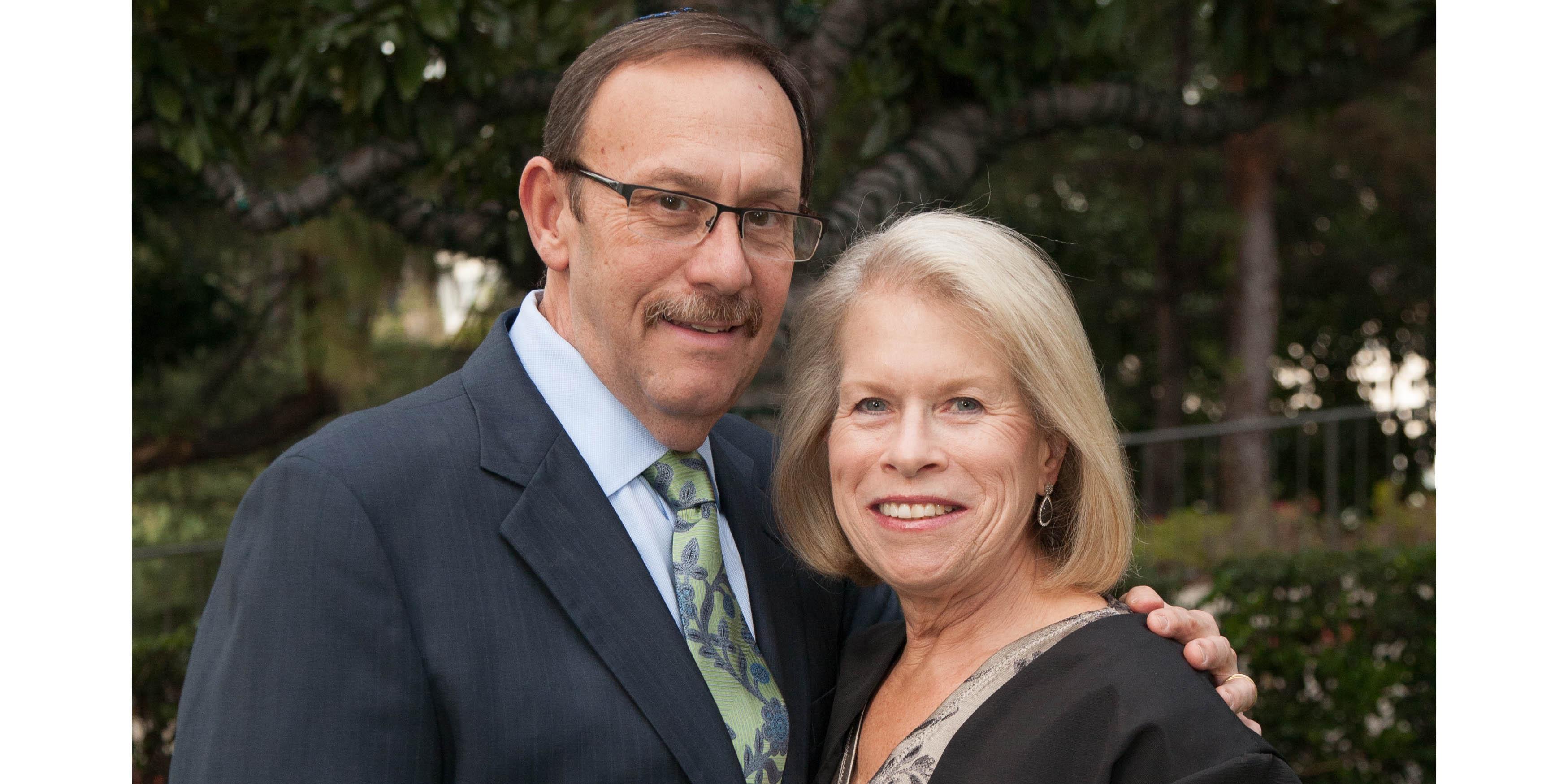 Sheila Baran Spiwak with Alan Spiwak