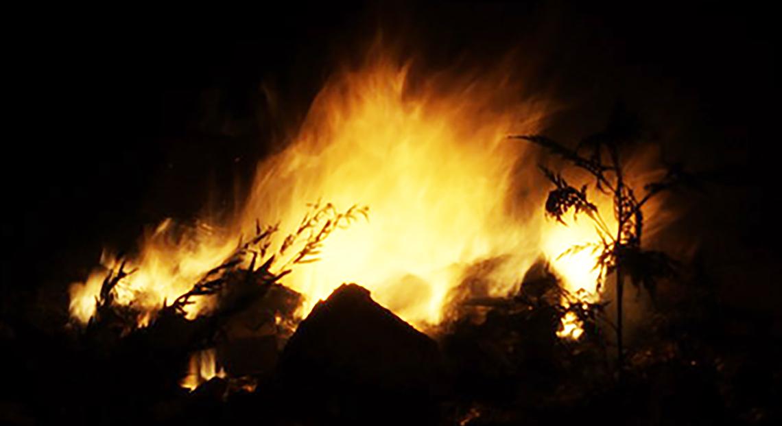Bonfire for Lag B'Omer