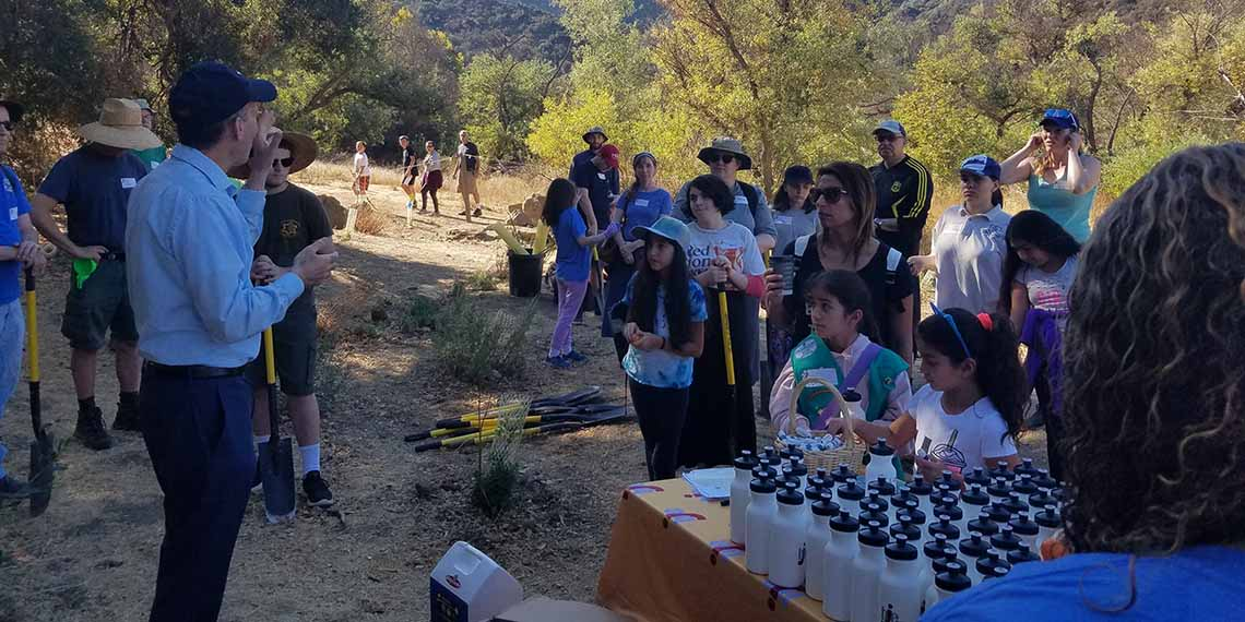 Learning, Action, Reflection at Malibu Creek State Park