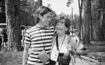 Sidonia Lax and Shai Kohavi on March of the Living