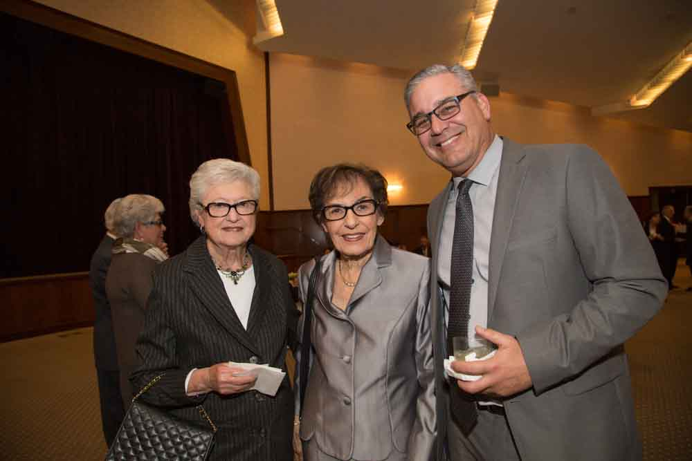 Beverly Barak, Janet Farber and Mark Shpall