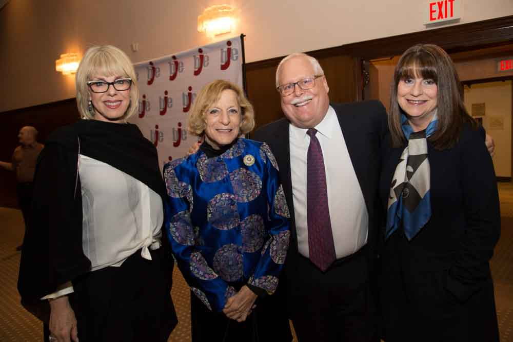 Felice Williams, Ruth Weisberg, Mark and Penny Berns