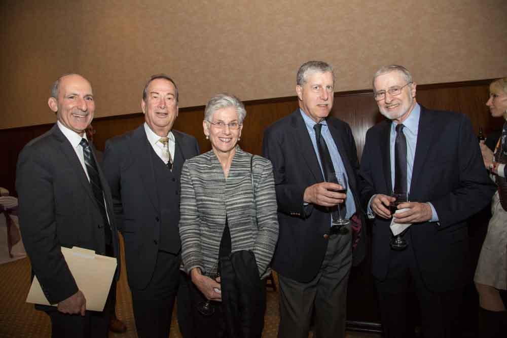 Dr. Gil Graff, Robert Mayman, Toshka and Norm Abrams, Michael Adler