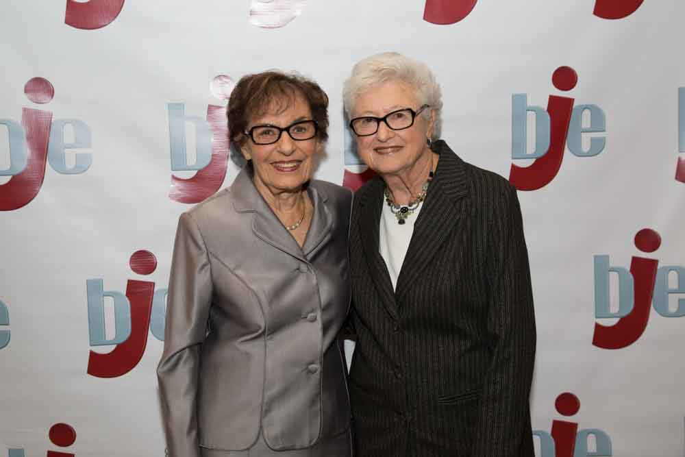 Janet Farber and Beverly Barak
