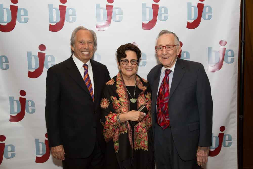Jerry Friedman with Rabbi Dr. Myrna Matsa and Paul Venze