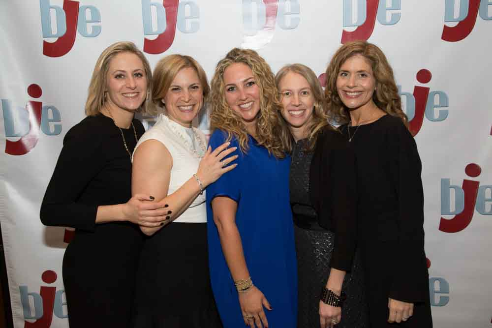 Joanna Kasirer, Melissa Hirsch, Jennifer Aftergood, Keren Dunn and Jennifer Elad