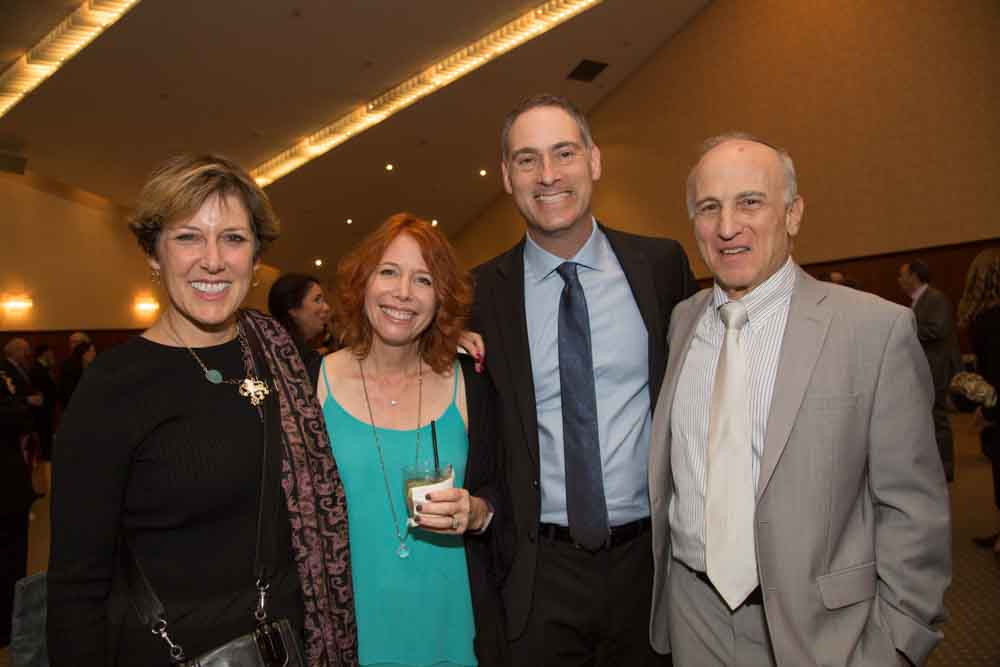 Karmi Monsher, Wendy and Greg Keer, and Mel Aranoff