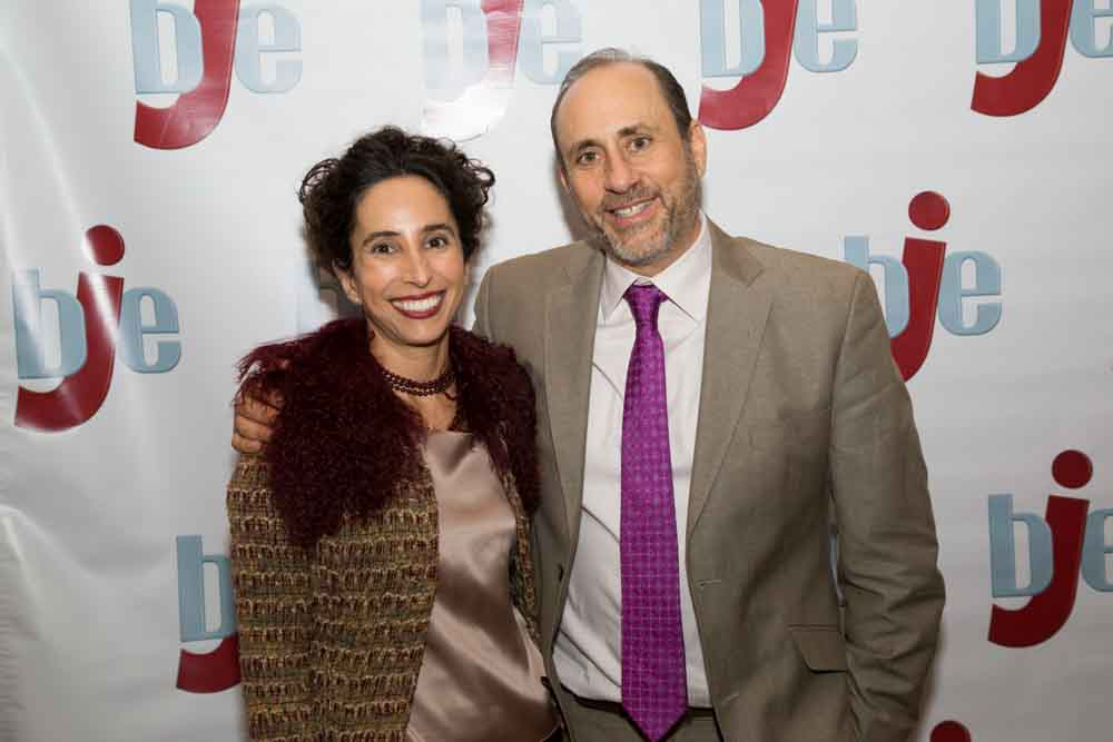 Rabbi Michelle Missaghieh and Dr. Bruce Ellman