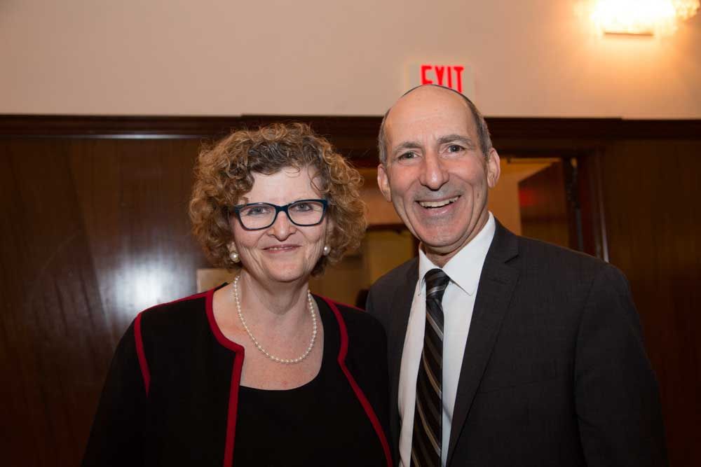 Miriam Prum Hess and Dr. Gil Graff