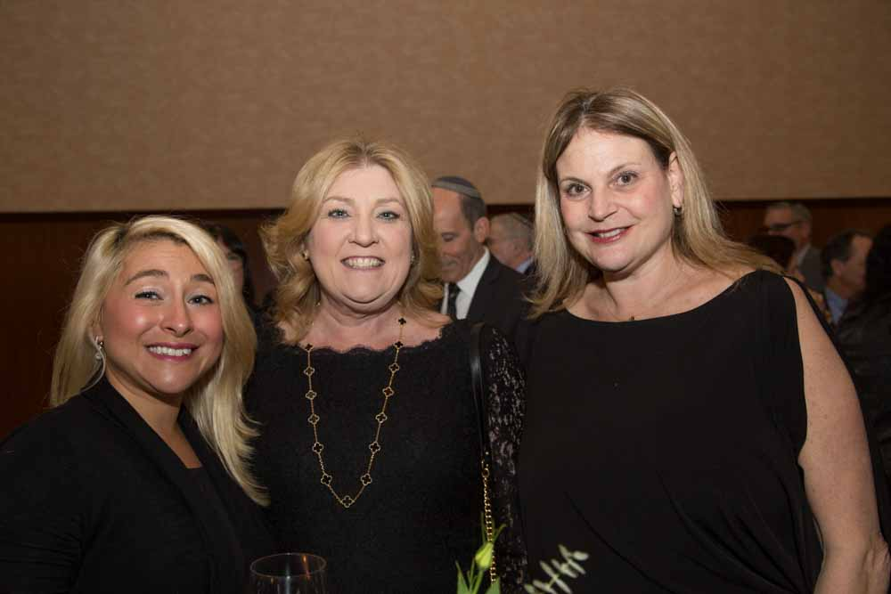 Nancy Schulman with Lori Larcara and Rachel Lowenthal of Hillside