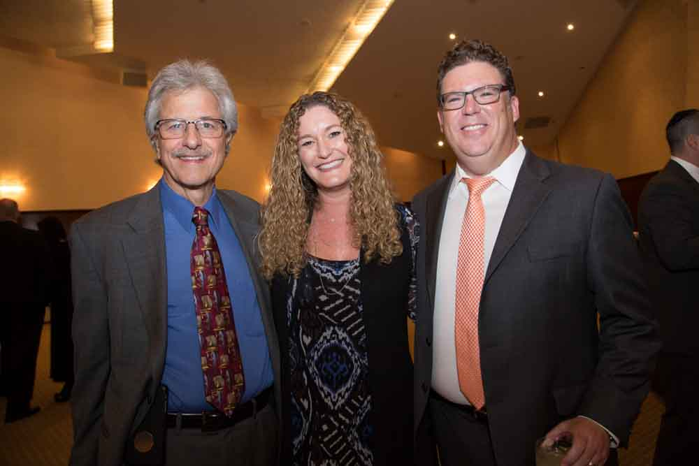 Phil Liff-Grieff, Rachel Kaplan and David Lewis