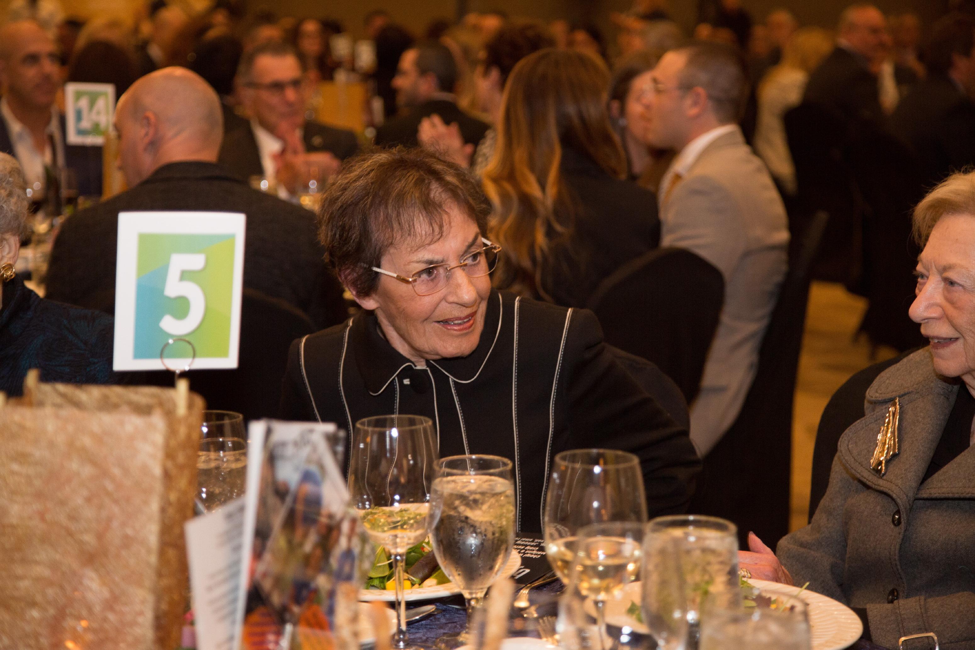 Past BJE Board President Janet Farber
