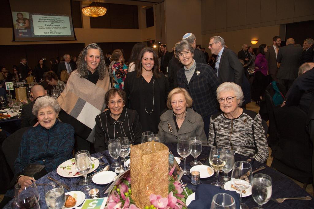 Marcia Abelson, Jill Lasker, Janet Farber, Maya Aharon, Maxine Flader, Rochelle Cohen, Beverly Barak