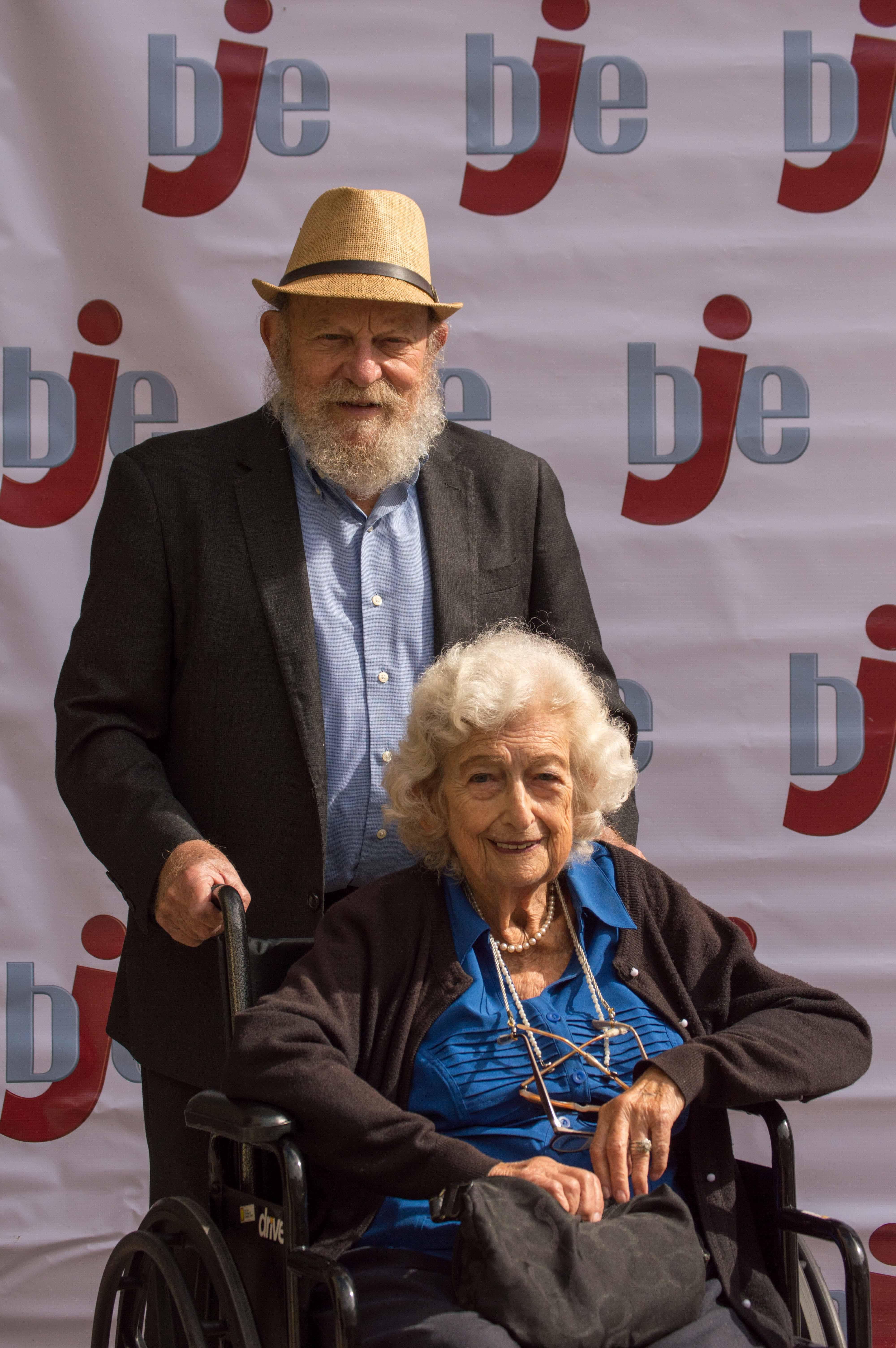 Claire & Rabbi Baruch Cohon