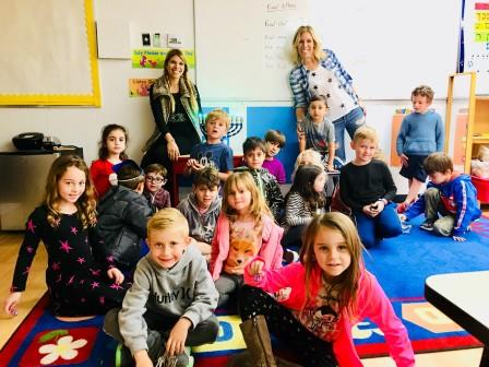 Temple Aliyah Religious school class