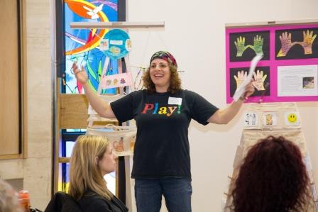 BJE Builder Sari Abrams, Director of Parent and Child Education, Pressman Academy